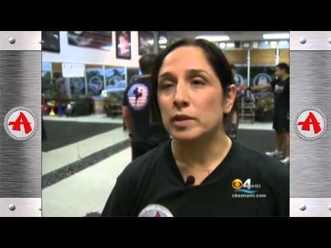 CBS - CH4 News - 07/12/2013 - Krav Maga Women Self Defense