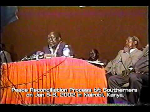 Dr. John garang and Dr. Riek Machar Video Part 1