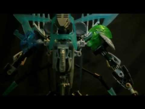 Bionicle moc: God of Destruction Mystic Beta X (David Hong moc contest entry)