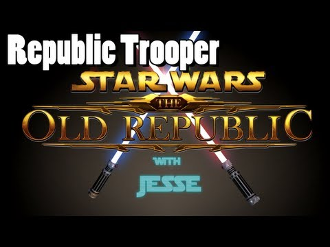 Beta: Republic Trooper lvl 1 - 5 playthrough w/ commentary