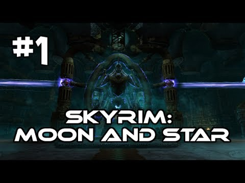 Let's Play Skyrim: Moon and Star Quest Mod (Gameplay/Walkthrough) [Part 1] - Little Vivec & Kagrenar
