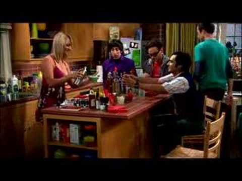 The Big Bang Theory - The Slippery , Koothrappali, with the help of alcohol, begins speaking to Penny