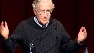 Noam Chomsky at Brown University on Israel & Palestine
