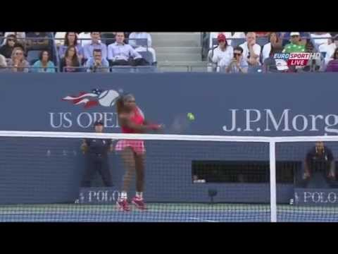 Serena Williams vs Na Li, US Open 2013 (SF), highlights HD