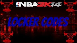 NBA2K14 LOCKER CODES CODE FOR RANDOM MYSTORE ITEM
