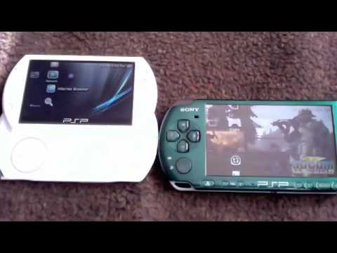 how to play videos on psp go