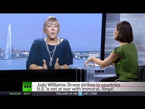 'Autonomous 'killer robots' could soon replace drones' - Nobel Peace Prize winner Jody Williams
