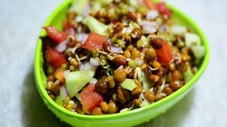 Moong Sprouts Salad Recipe Video