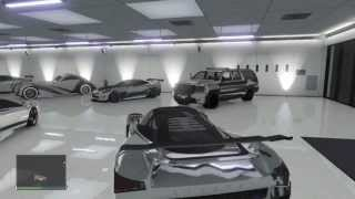 GTA Online My Garage All Supercars CHROME Adder