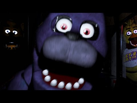 WARNING: SCARIEST GAME IN YEARS   Five Nights at Freddy's - Part 1