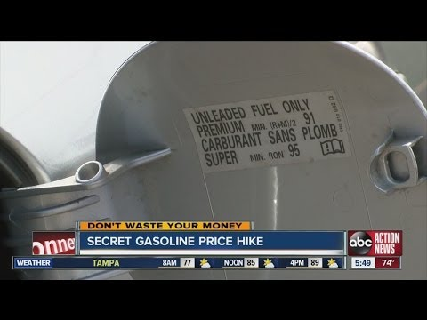 Don't Waste Your Money: Secret gasoline price hike