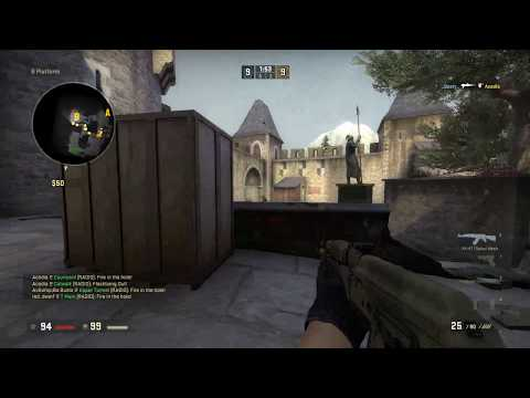 CS:GO Live Gameplay 122 +1v1 with friend