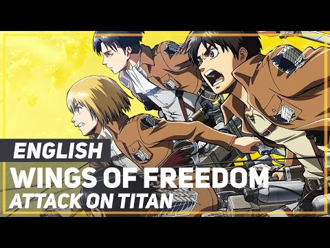 "ENGLISH ""Wings of Freedom"" Attack on Titan /Lullaby Ver/ (AmaLee), English cover of the second OP"