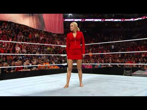 Dolph Ziggler returns to Raw, Lana kicks Summer Rae WWE - August 17th, 2015