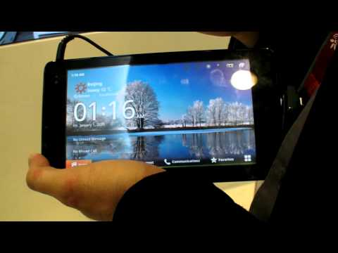 Huawei S7 Slim and Huawei MediaPad Android Tablets