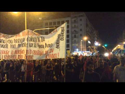 Thessaloniki: Protest in memory of rapper slain by Golden Dawn #KillahP