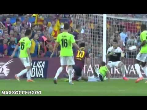 Barcelona vs Osasuna 7-0 2014 все голыыыыыыыыы!!!!