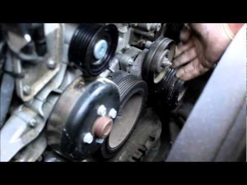 Benz W210 2001 E320 Wagon Tension Pulley Idle Pully