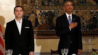 أوباما يعد بدعم اليونان قبل التوجه إلى ألمانيا  