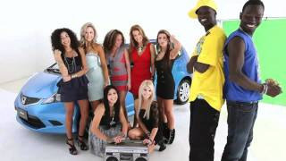 Реклама Honda Jazz при участии Bangs