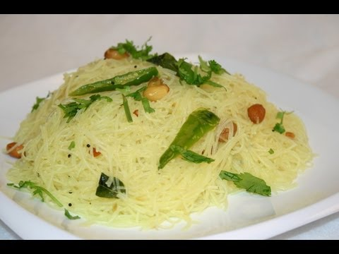 Gluten Free Rice Sticks Upma Recipe