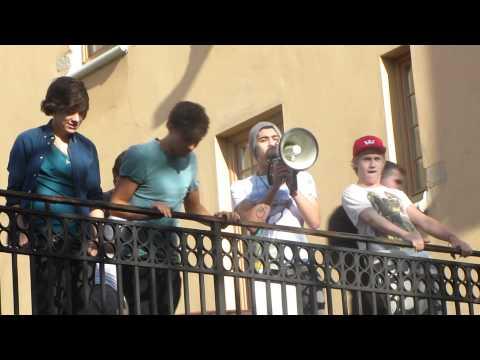 One Direction in Sweden HD Zayn Malik says Vas happening