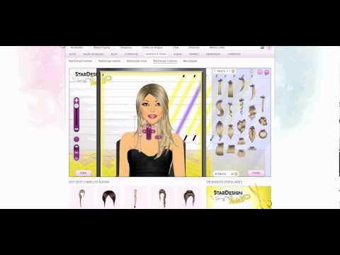 Stardoll- criando cabelo1, Ensina a fazer cabelo no www.stardoll.com.
