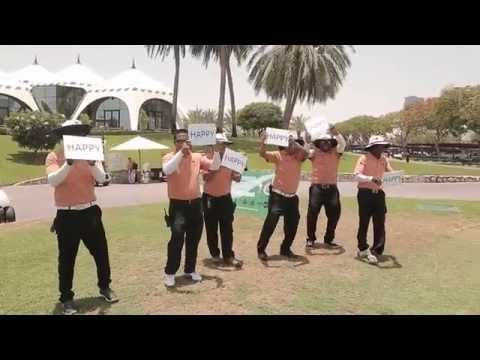 Dubai Golf Happy video - Pharrell Williams