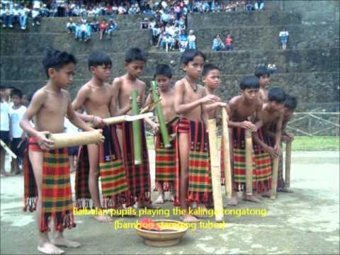 kalinga soundscape - bamboo tubes