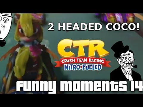 Crash Team Racing Nitro Fueled: Funny Moments #14 (Glitches, Fails, Wins)