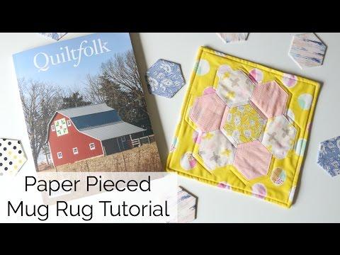 Hexagon Mini Quilt Tutorial
