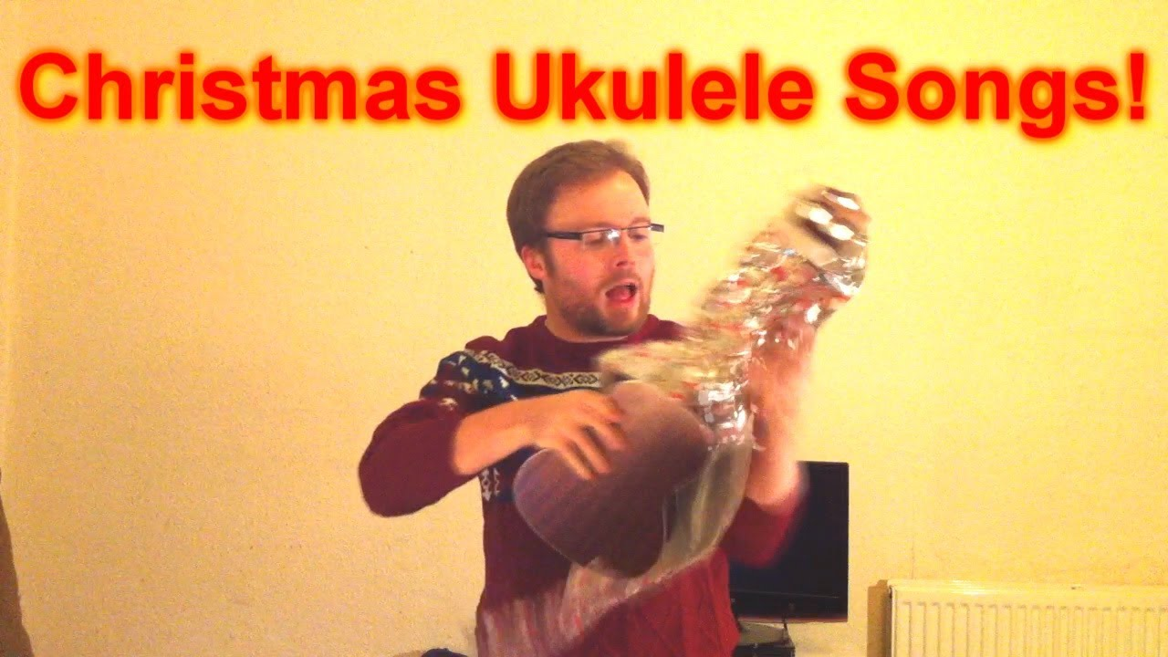 How To Play Three Easy Christmas Songs on The Ukulele! - YouTube