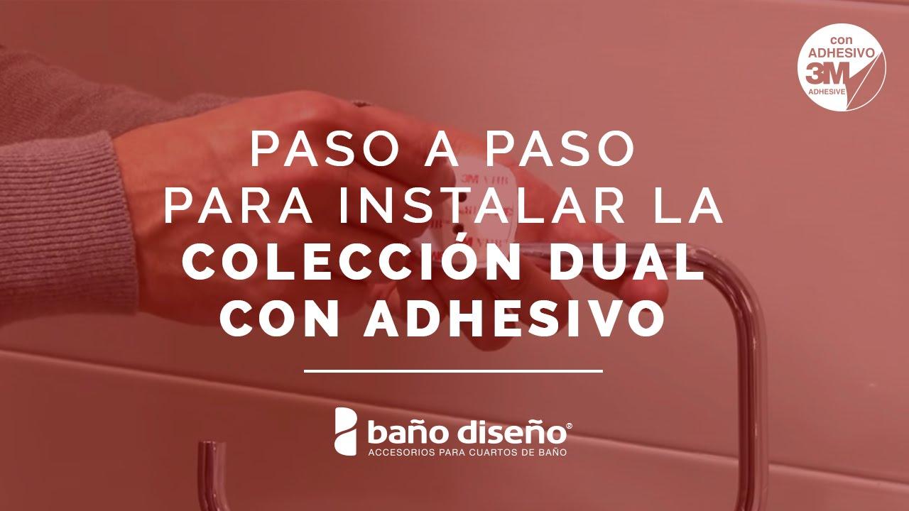 Accesorios De Baño Adhesivos:Cómo instalar accesorios de baño adhesivos – Dual – Baño Diseño