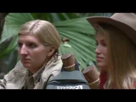 "Tears Of The Jungle-Queen? Rebecca On ""I'm a Celebrity"" 2013"