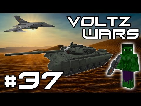 Minecraft Voltz Wars - Missile Launch! #37