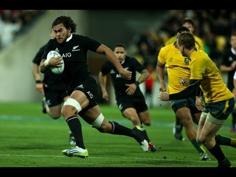 New Zealand vs Australia Rd.2 2013 | Bledisloe Cup Rugby Championship Video