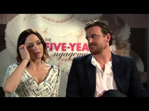 Emily Blunt And Jason Segel On Shoes And A Very Long Engagement