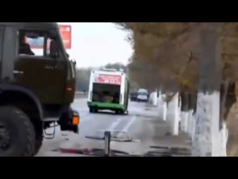 Volgograd bus bomb explosion   dashboard camera video