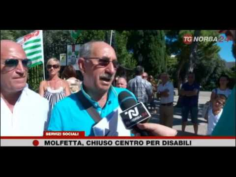 TG TELENORBA La Fisascat a Molfetta con i lavoratori del Centro Polivalente per disabili