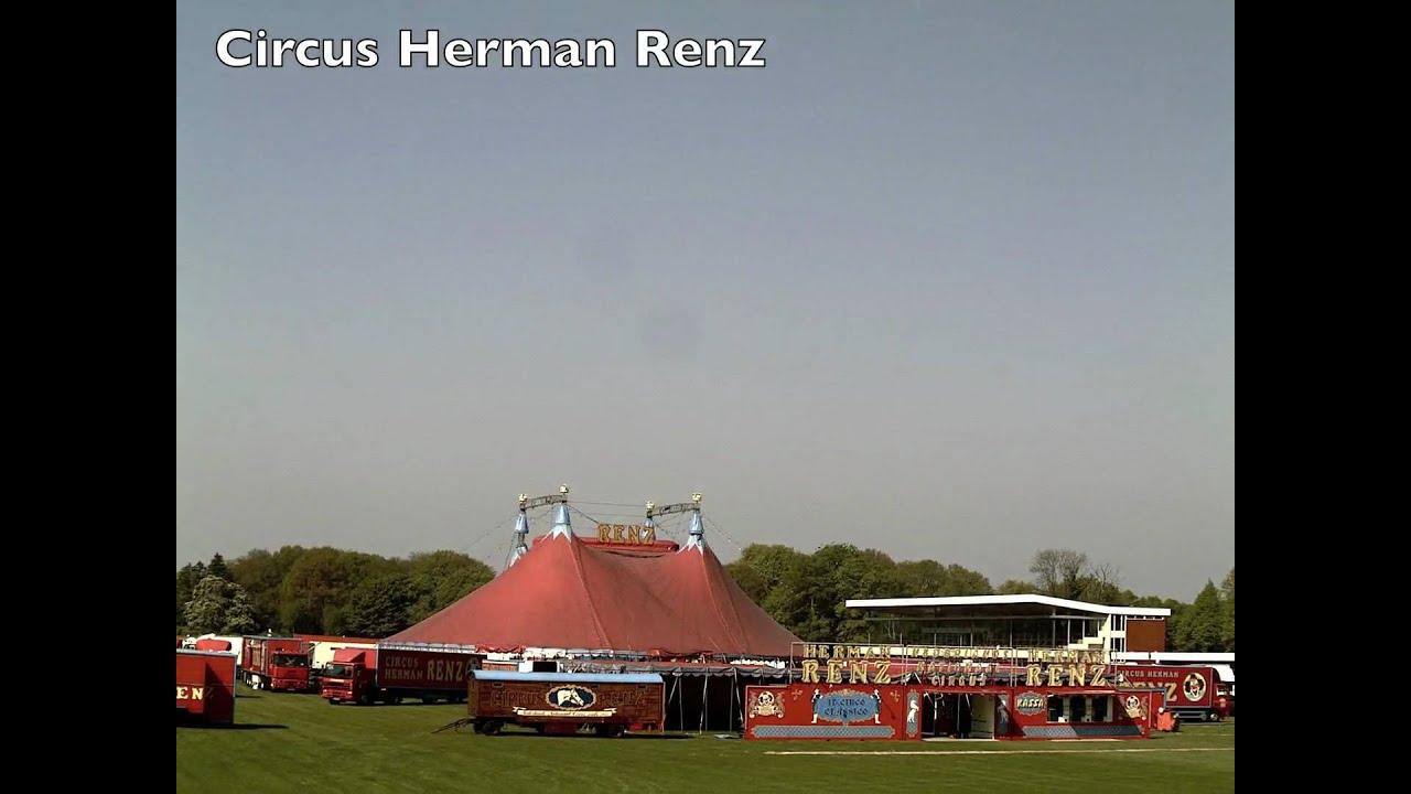 Nederlands nationaal circus herman renz opbouw van de tent youtube - Woon outs vierkante ...