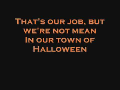 The Nightmare Before Christmas- This Is Halloween (lyrics) - YouTube