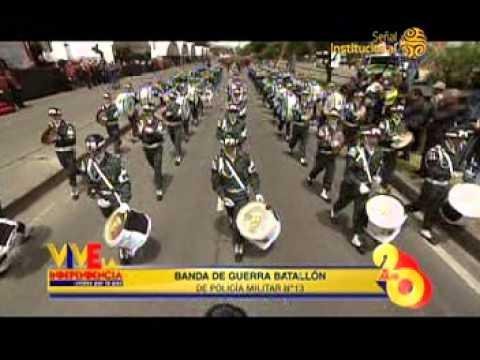 Desfile Militar 20 de julio 2014, parte 1