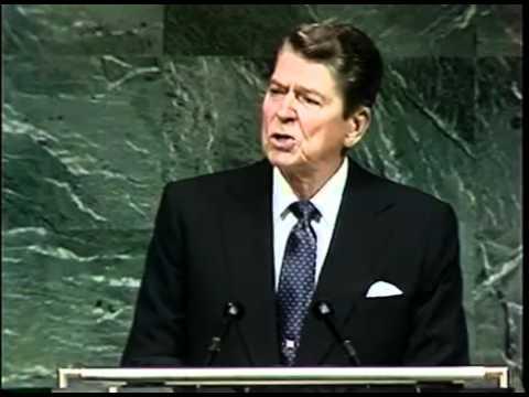 President Ronald Reagan mentions Alien Threat at Fallston_ UN & National Strategy Forum