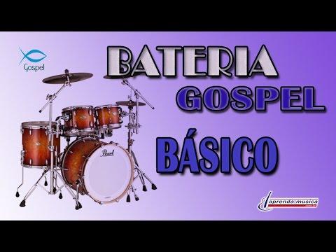 Aprenda Música - Aprenda Bateria Gospel - Básico