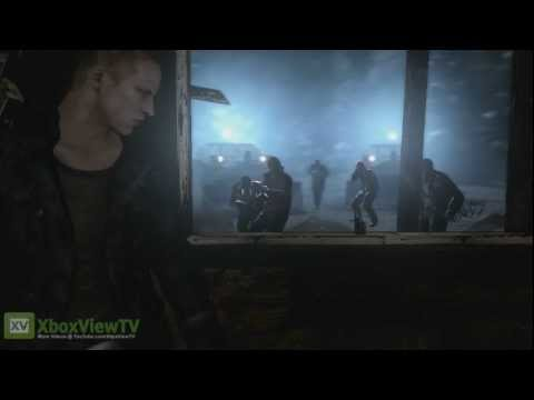 "Resident Evil 6 | GamesCom 2012 ""Snow-Covered Mountain"" Jake Gameplay 