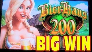 Bier Haus 200 MEGA BIG WIN Las Vegas Slot Machine