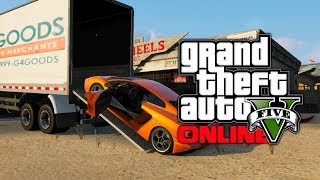 GTA 5 Online: How To Store Cars & Vehicles With Truck