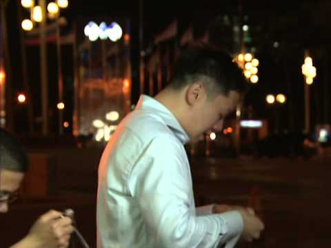 CCTV News correspondent cries while on air