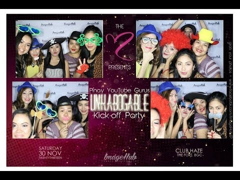 Unkabogable Kick-off Party (Meet & Greet With Pinay YouTube Gurus)
