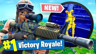 *NEW* THERMAL SCOPED AR Gameplay In Fortnite Battle Royale!